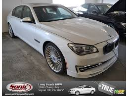 custom white bmw car picker white bmw alpina b7