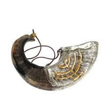 anointing rams horn menorah shofars