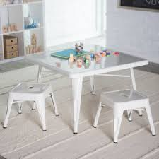 Kidkraft Table With Primary Benches 26161 Kids Table U0026 Chairs Hayneedle