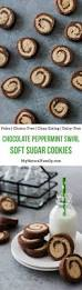 chocolate peppermint swirl soft paleo sugar cookies recipe