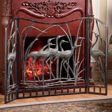 fireplace screens and hearth decor