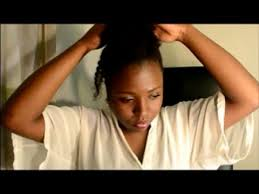 pondo hairstyles for black american quick and easy simple natural hair styles under 5 mins youtube