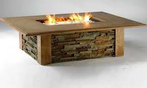 Rectangle Fire Pit - rectangle fire pit table home fireplaces firepits rectangle