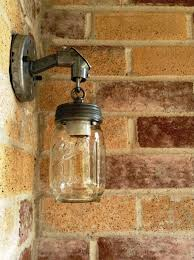 Galvanized Wall Sconce 10 Best Mason Jar Wall Sconces Images On Pinterest Ball Mason