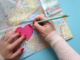 How To Make A Map How To Make A Map Heart Card Hobbycraft Blog