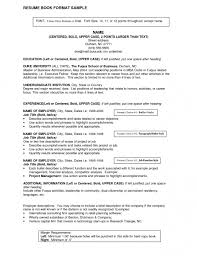 resume cover letter free example within 23 appealing examples for
