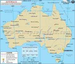 location of australia on world map australia latitude and longitude map lat map of australia