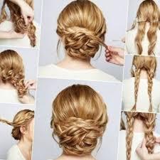 Hochsteckfrisurenen Selber Machen Glatte Haare by Die Besten 25 Brautfrisur Selber Machen Ideen Auf