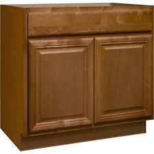 Hampton Bay Cambria Assembled Xx In Sink Base Kitchen - Home depot kitchen base cabinets