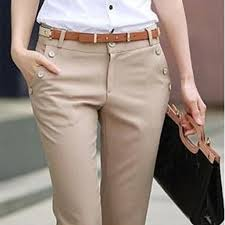 plus size trousers women pants spring summer casual ol formal
