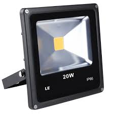 Exterior Led Flood Light Bulbs by Waterproof 20w Outdoor Led Flood Light Daylight White Pack Of 3