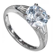 light blue sapphire engagement rings light grey blue sapphire platinum ring at 1stdibs