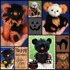 happy halloween artwork teddies by laura lynn october 2015