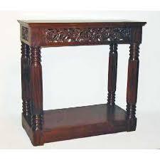Mahogany Console Table Antique Indo Portuguese Mahogany Console Table