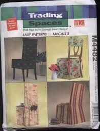 tlc trading spaces chair cover pattern trading spaces tlc 4482 mccall u0027s ebay