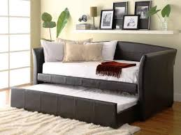 Wood Daybed With Pop Up Trundle Pop Up Trundle Bed Installation Home Decorations Ideas