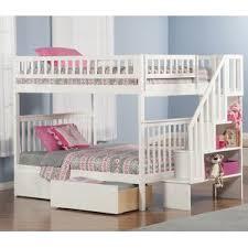 Bunk Bed With Shelves Bookcase Bunk U0026 Loft Beds You U0027ll Love Wayfair