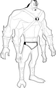 99 ideas ben 10 albedo coloring pages halloweencolor