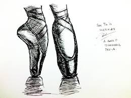 sketch 18 ballet shoes by adela1015 on deviantart