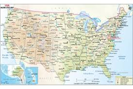 map of usa with major cities maps of the united states map united states showing major cities