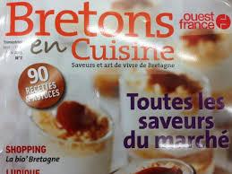 bretons en cuisine magazine bretons en cuisine 7 en kiosque le 28 août cuisine et