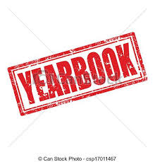 free yearbook search yearbook st grunge rubber st with word clip vector