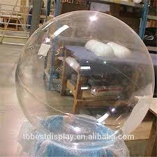 pretty best quality acrylic clear plastic globe large transparent