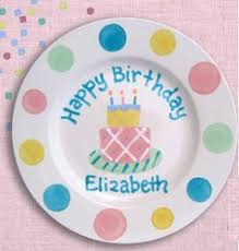 personalized birthday plate decorated cake personalized birthday plate for that occasion