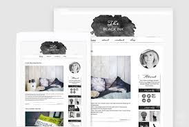 lifestyle design blogs watercolor blogger template creative blog layout lifestyle