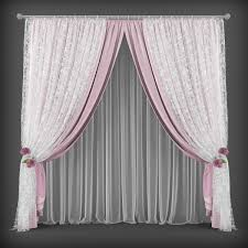 curtain 3d model 157 realtime cgtrader