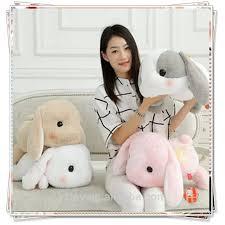 papa rabbit long ears beanie boo stuffed animals plush soft toys