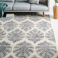 What Is A Tufted Rug Sarasa Wool Rug West Elm