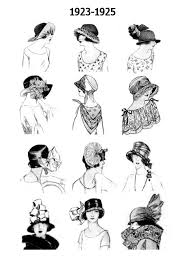 20 s hairstyles 1920s pictures hats 20s hair style fashions