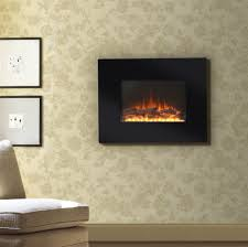 flamelux 26 in wall mount electric fireplace black walmart com