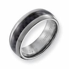 carbon fiber wedding band men s 8 0mm engraved titanium with carbon fiber inlay wedding band