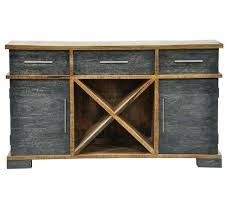 rustic buffet sideboard unique solid wood espresso storage cabinet