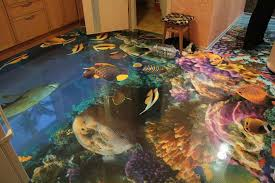 3d floors turn your bathroom into an ocean mirror online