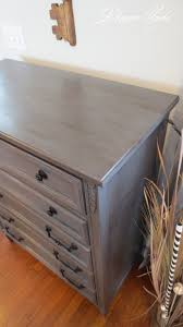 draven made bronzed grey dresser two coats of gf u0027s milk paint in