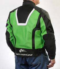 mesh motorcycle jacket men u0027s superfabric ez 1 mesh jacket hiviz green u2013 slatin motogear