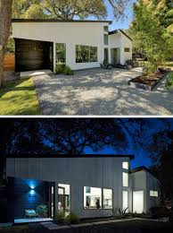 modern house entrance this l shaped house in texas opens up for indoor outdoor
