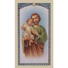 prayer cards prayer to st joseph prayer card the catholic company