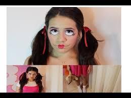 creepy doll costume diy creepy doll costume makeup