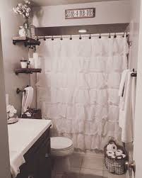 Black And White Bathroom Decor by Apartement Fancy Apartment Bathroom Ideas Shower Curtain
