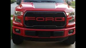 ford f150 raptor style grill youtube