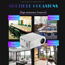 Home Theater Design Ebook Download X6 Mini Portable 480 X 320 Pixels 80lms Lcd Projector Home Cinema