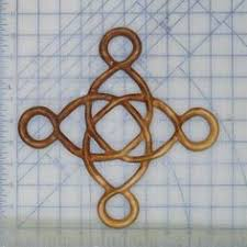 celtic butterfly knot of metamorphosis transition symbol