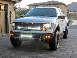 Ford Pickup Raptor 2011 - 2004 2014 ford f 150 raptor led light mounts brackets by rigid