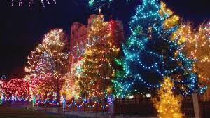 your guide to displays and tree lighting ceremonies in