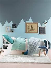 peinture bleu chambre peinture bleu chambre garcon tendance bureau à domicile décoration