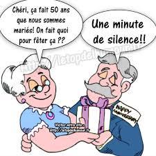 dessin humoristique mariage 50ans fait quoifeter minute silence jpg